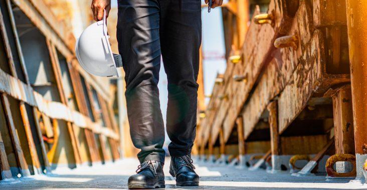 travaux chaussures de sécurité